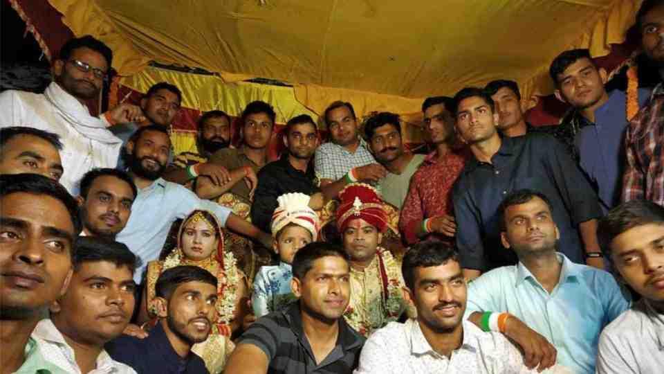 Garud commandos in the wedding ceremony of Martyr Jyoti Prakash Nirala's Sister